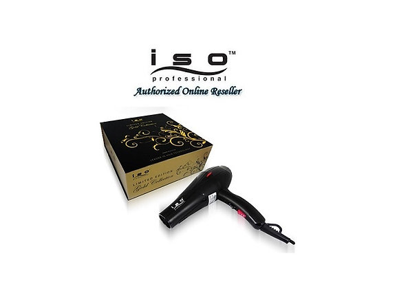 Iso Beauty Gold Collection  Salon 2000 Hair Dryer