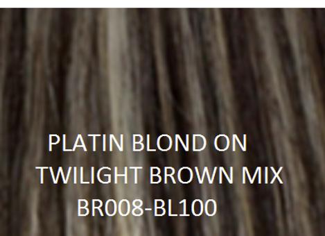 """Herstyler Hidden Crown 18"""" Human Hair Extensions MIX BR008/BL100"""