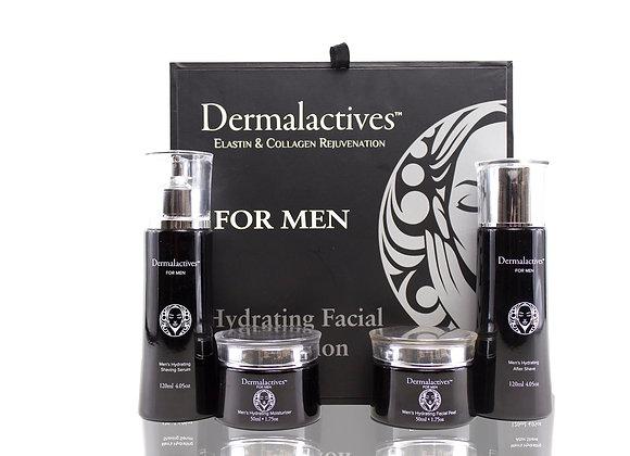 Men Hydrating Set After Shave, Shaving Serum, Facial Peel Moisturizer Facial Set