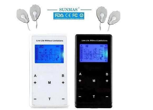 SUNMAS Electric Tens Massager 8 Massage Modes