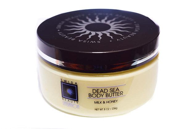 Swisa Beauty Dead Sea Body Butter Great As a Skin Moisturizer After Tan Salon