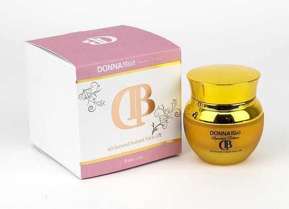 Donna Bella Signature 60 Second Instant Face Lift Banish Wrinkles & Puffiness