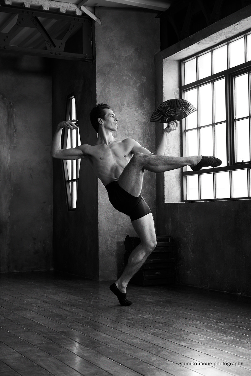 Alexandre Riabko | Principal dancer of Hamburg Ballet for VOGUE japan