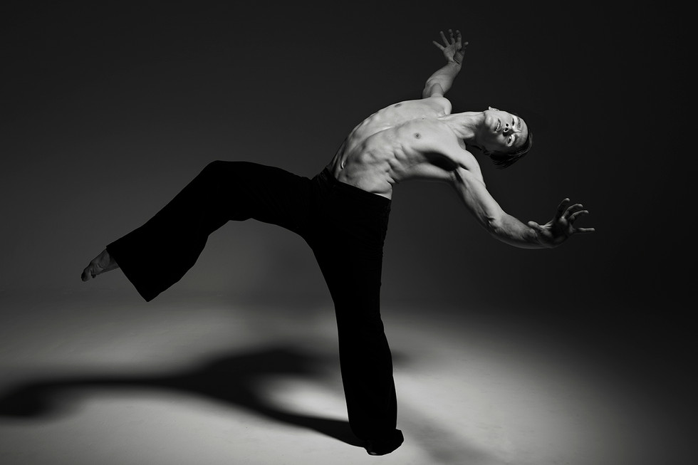 James Pett | Contemporary dancer