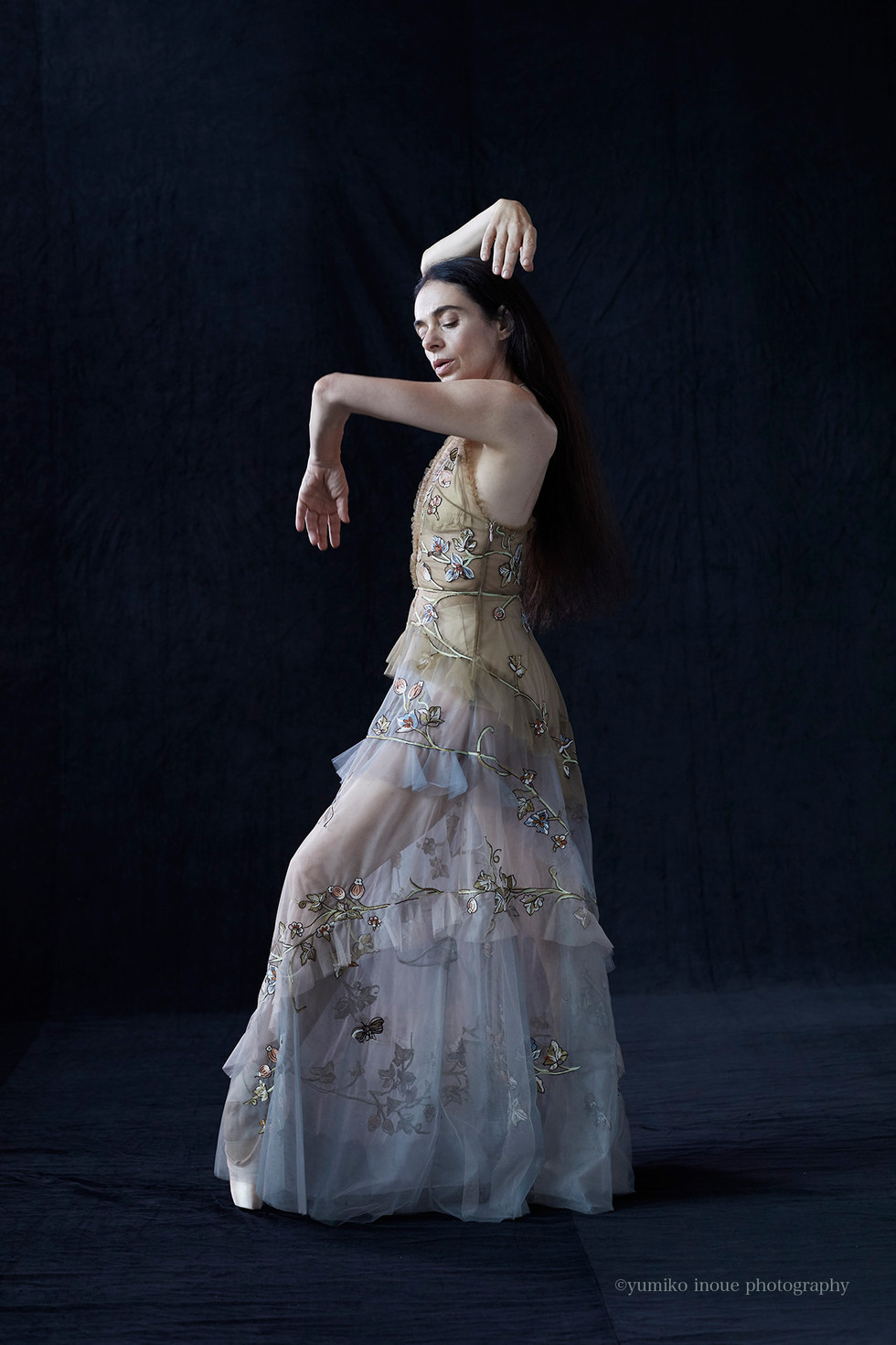 Alessandra Ferri | Legendary ballet dancer for VOGUE japan