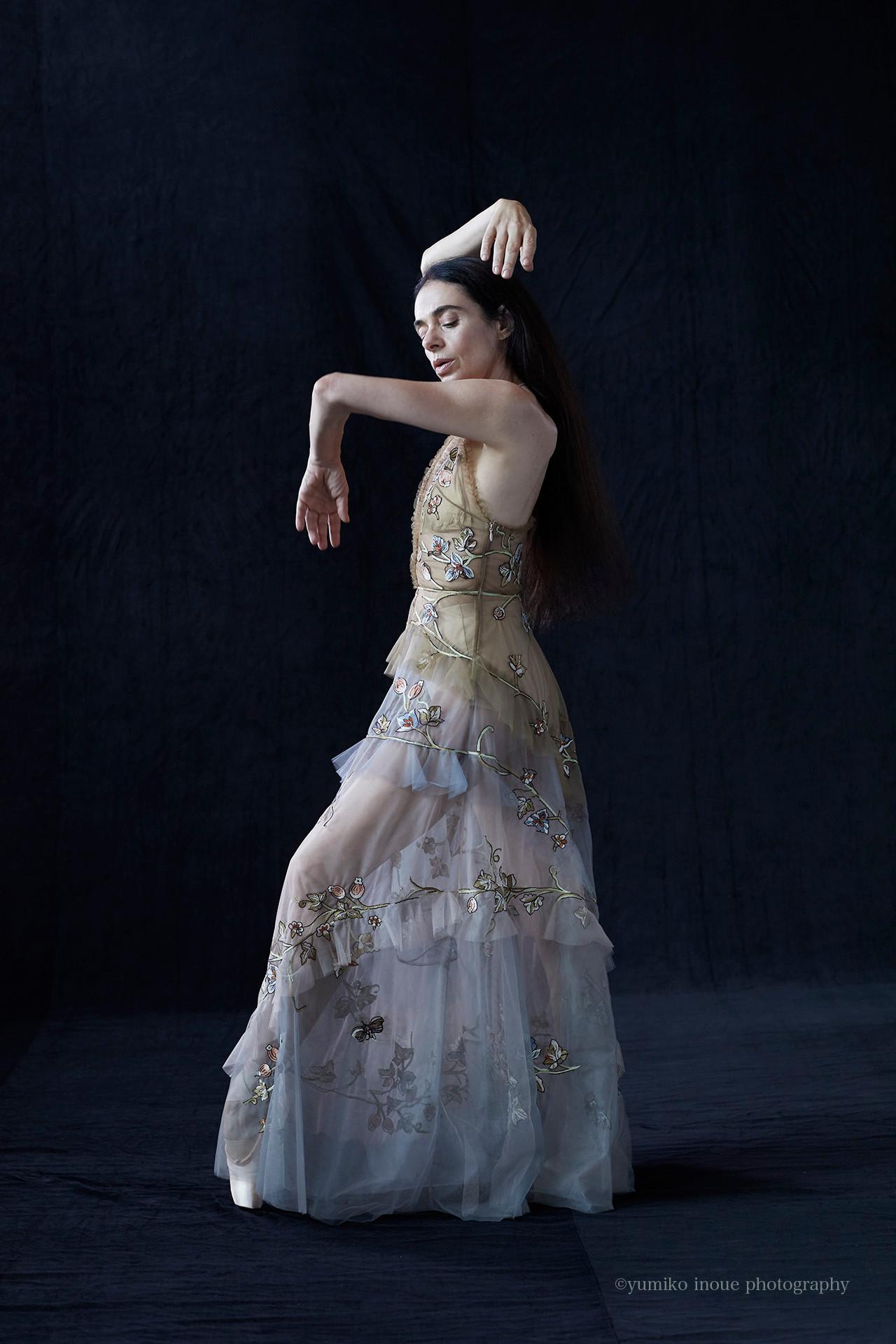 Alessandra Ferri   Legendary ballet dancer for VOGUE japan