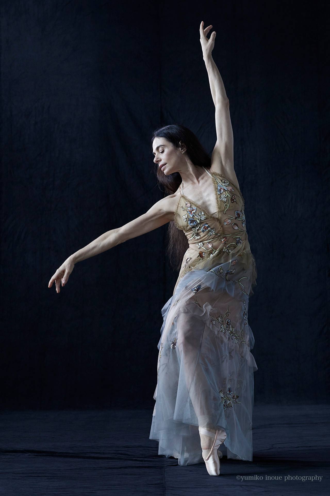 Alessandra Ferri | Legendary ballet dancer for VOGUE japan
