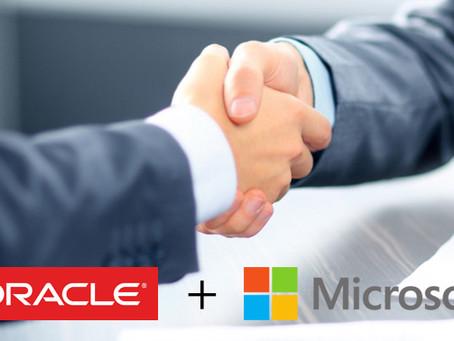 Oracle y Microsoft se unen en la interconexión de Oracle Cloud y Microsoft Azurepara acelerar la ad