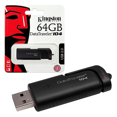 Kingston 64GB DataTraveler 104 USB