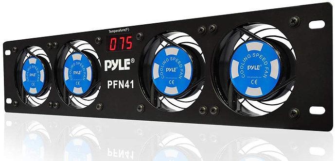 Pyle Pro PFN41 4-Fan Rackmount Cooling System