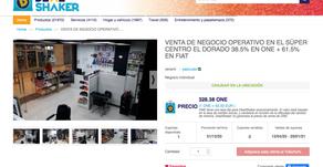VENTA DE NEGOCIO OPERATIVO EN EL SÚPER CENTRO EL DORADO 38.5% EN ONE + 61.5% EN FIAT