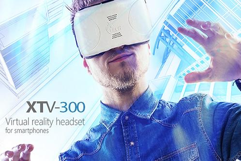 XTech Visor de Realidad Virtual modelo XTV-300