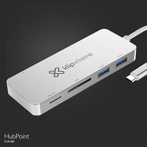 Klip Xtreme HubPoint 5-in-1 HUB USB Type-C diseñado para Windows