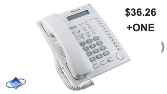 PANASONIC KX-T7730X PARA CENTRAL TELEFÓNICA $36.26 + ONE