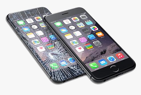 Cambio de Pantalla iPhone rota