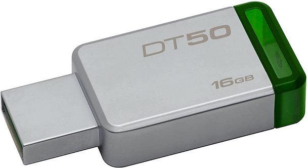 Kingston DataTraveler 50 - unidad flash USB de 16GB (OEM)