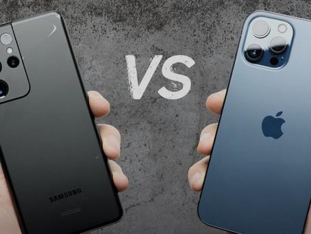 El iPhone 12 Pro Max gana al Samsung Galaxy S21 en un test de caídas grabado en video por PhoneBuff