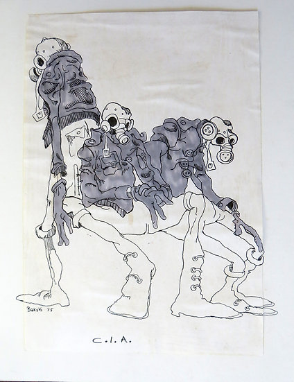 SOLD - SOLDIERS - Bakshi
