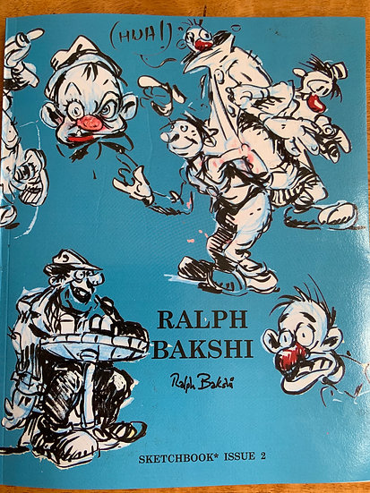 Bakshi  Sketch Book 2