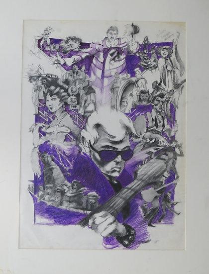American Pop Preliminary Poster Design- Louise Zingarelli
