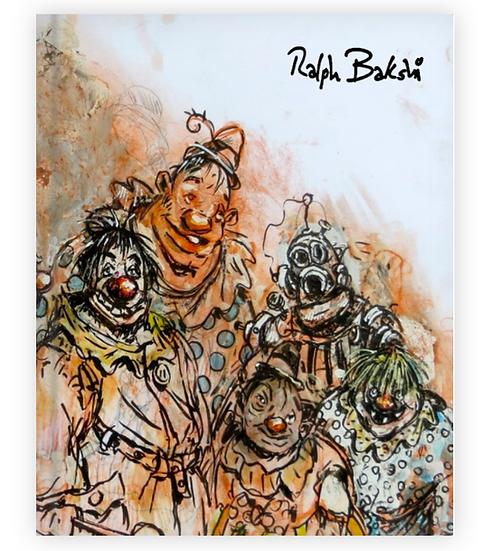 Ralph Bakshi Studio Selects-  Book ONE