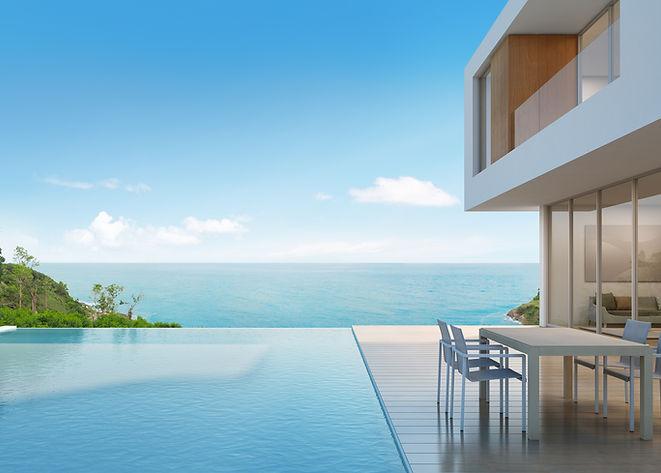 Beach-house-with-sea-view-in-modern-desi