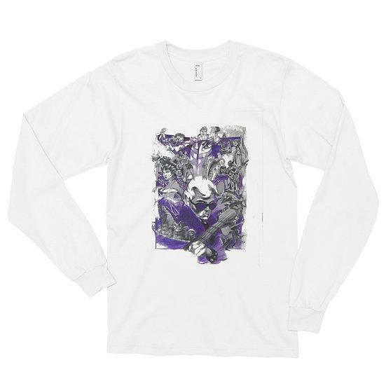 Bakshi's American Pop Art by Zingarelli Long sleeve t-shirt