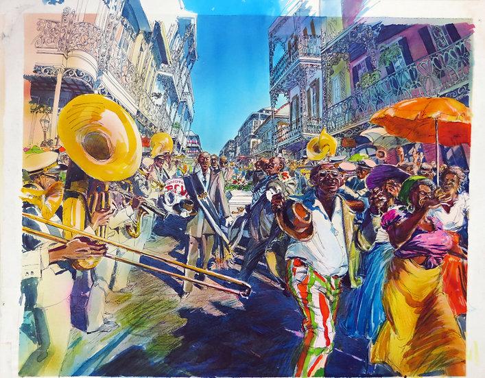 American Pop Original Painting