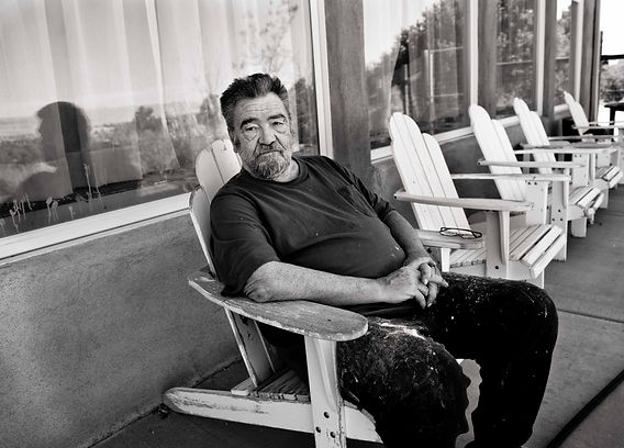 Ralph Bakshi at home. Photo by Linda Kessler.
