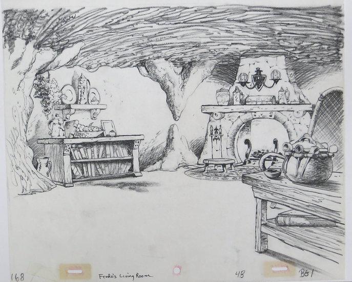 Frodos Living Room - LOTR