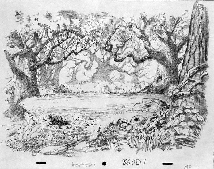 Fangorn Forest - LOTR