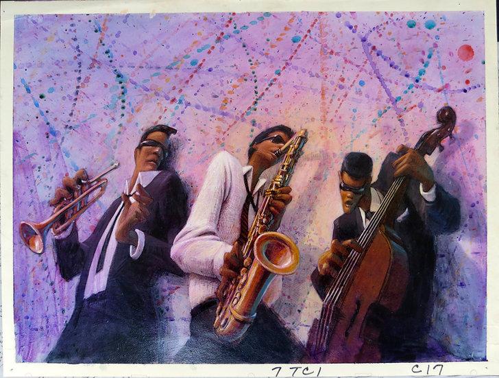 American Pop Original Art - Barry Jackson