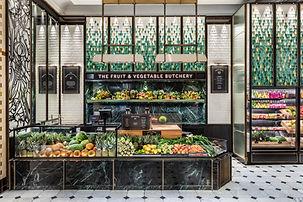 Harrods food hall david collins studio