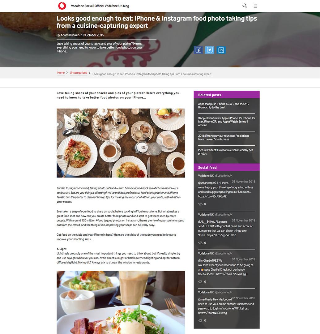 Vodafone UK Blog