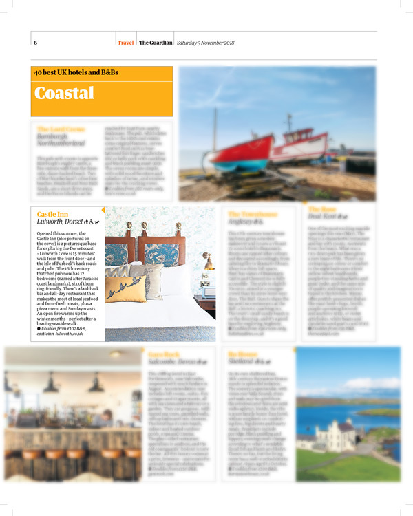 The Castle Inn in The Guardian