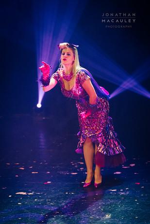Ruby Deshabille Retro Showgirl