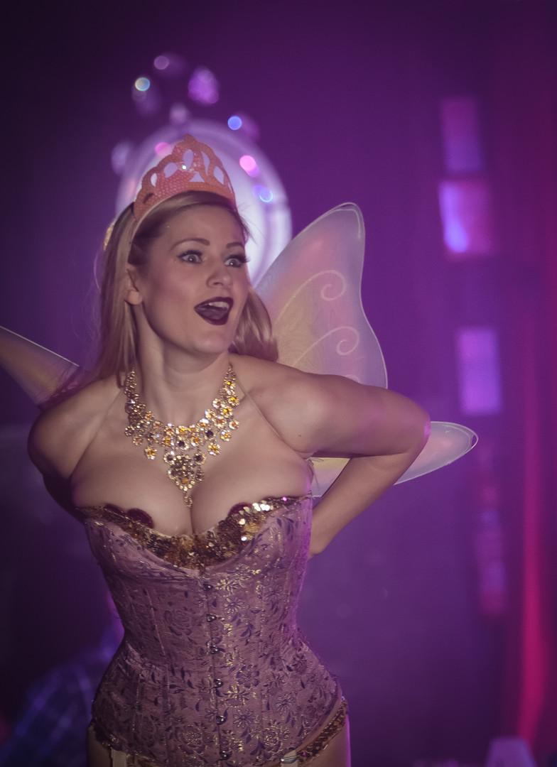 Ruby Deshabille Christmas Fairy