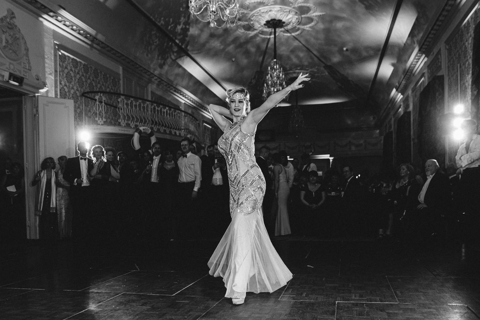 Ruby Deshabille Art Deco
