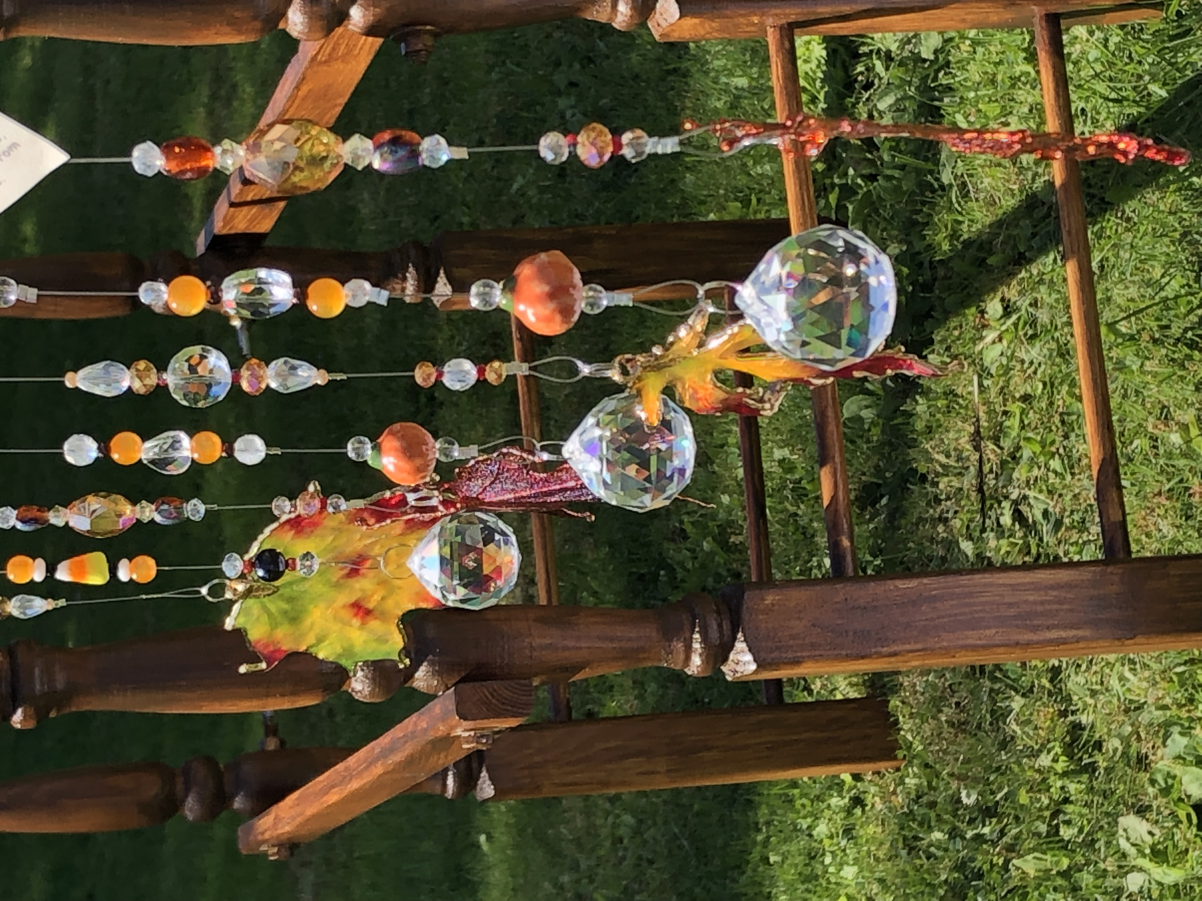 Fall theme suncatchers
