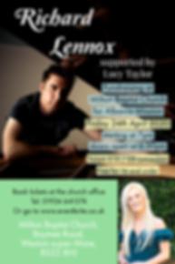 Richard Lennox - Poster - APRIL 2020 (1)
