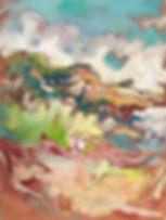 Les traces du temps II Acrylique sur toile