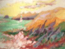 Les traces du temps Acrylique sur toile