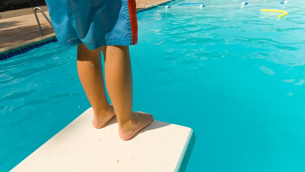 Diving Board Fear