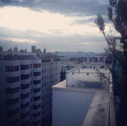 Claudia's balcony.