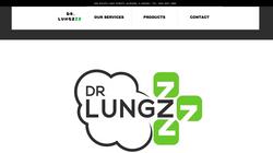 Dr. Lungzzz Website Design