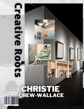 Christie Chew-Wallace is a Painter and Art Gallery Owner!