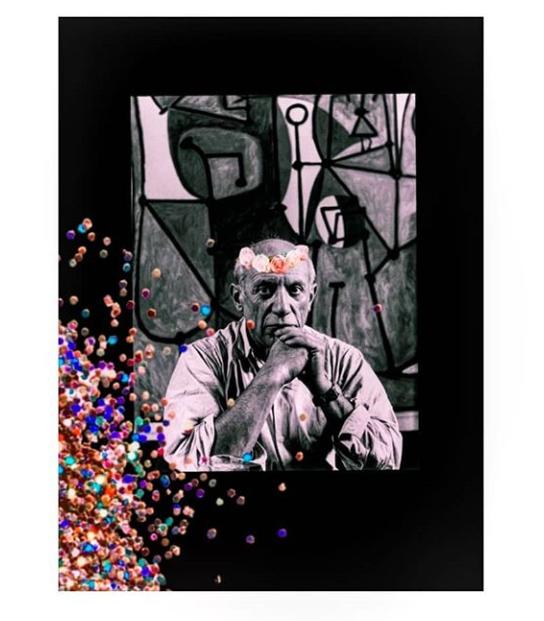 Picasso - Glitter Man