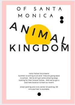 Animal Kingdom Event