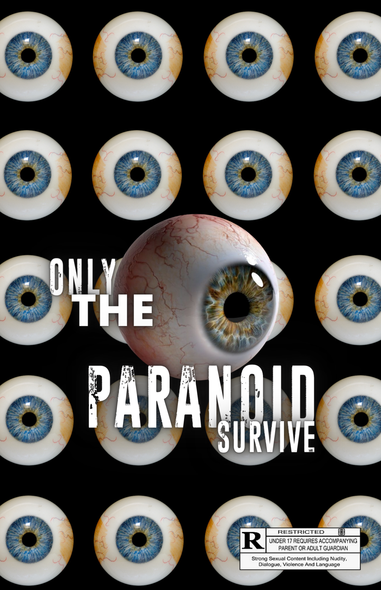 Only The Paranoid Survive Poster