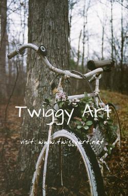 Twiggy Art Bike.